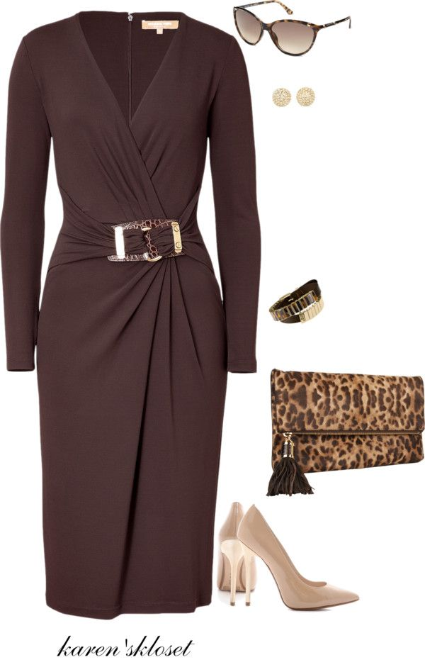 """michael kors bag!"" by karenskloset ❤ liked on Polyvore"