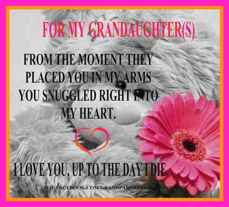 For My Grandaughter S Grandaughter Birthday Quotes