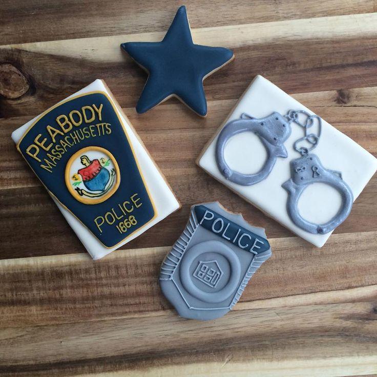 Police Shirt Cake