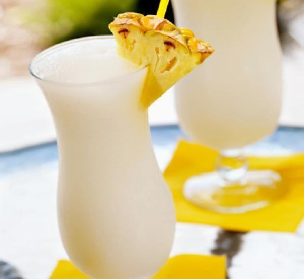Virgin Pina Colada - Easy To Make Tropical Fruit Drink Recipe