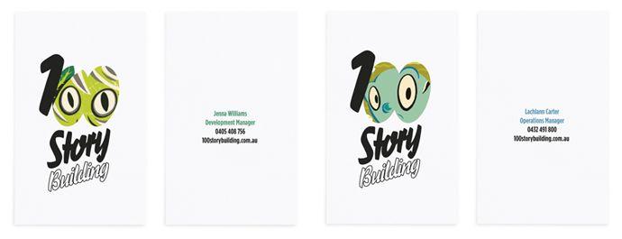 100 Story Building stationery