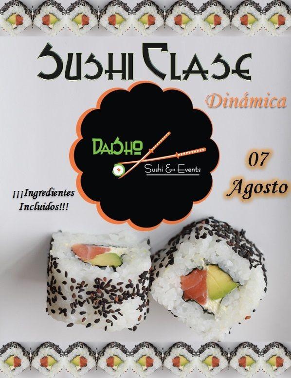 #Curso de preparación de #Sushi / #Clase práctica de preparación de #Sushi en #Cali el 07 de #Agosto..