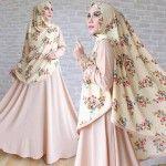 Baju Muslim Cantik Wolfis Mix Bubble