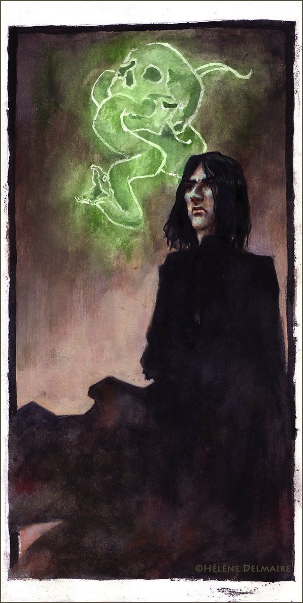 S. Snape - Death Eater period by AnCatDubh on deviantART