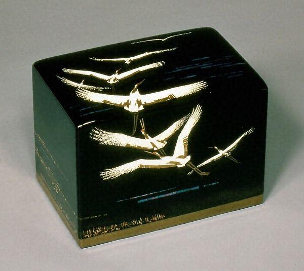 金胎蒔絵漆箱 「飛翔」 文化遺産オンライン