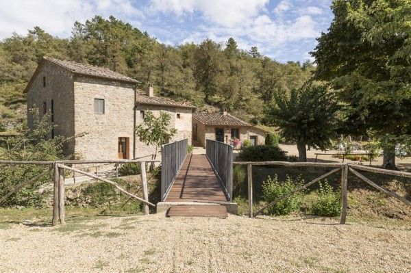 Stunning and perfectly restored old mill in #Tuscany
