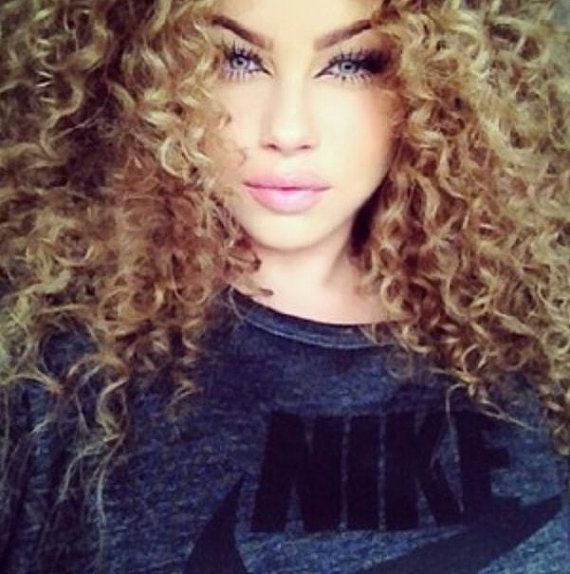 sexy girl hot porn curly hair