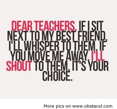 Funny Quotes About School: 25+ Best Funny School Quotes On Pinterest
