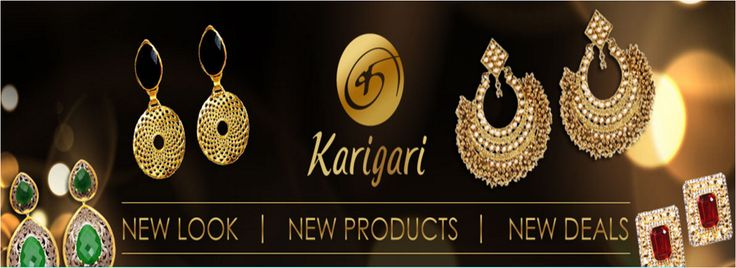 The #trendiest & the most #fashionable #jewelry pieces are here at http://www.karigari.in/ Have you tried us yet?