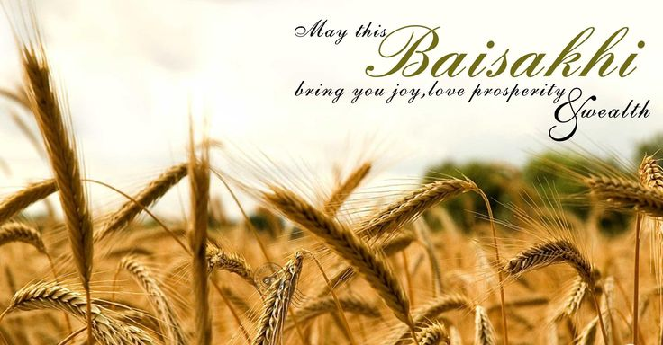 May your #Baishaki be blessed with the bounty of the season and the harvest of joy and prosperity!  #HappyBaisakhi! #Festival
