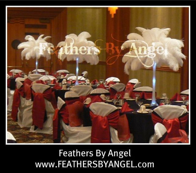 Best images about ostrich feather arrangements on