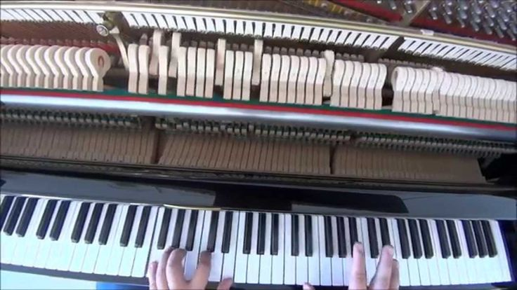 #U2, #Achtung #Baby, #One, #Piano #Cover, #Music #Improvisation By #BIordanis, #HD