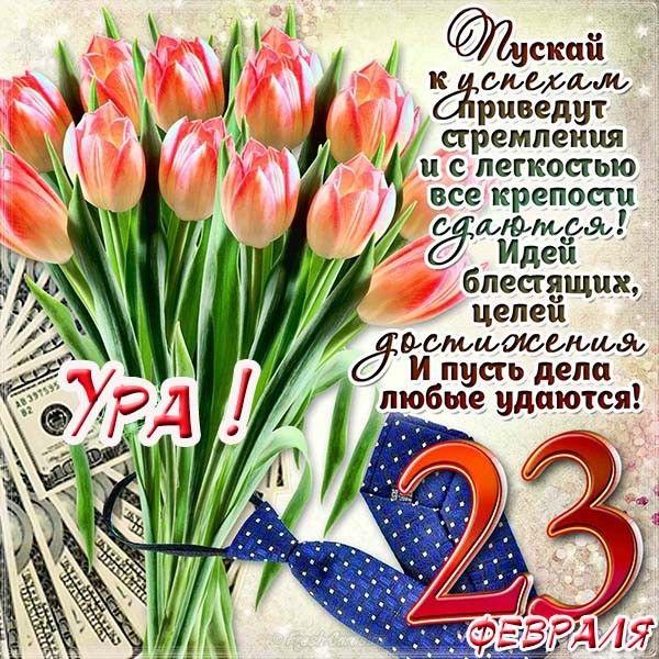 Поздравления с 23 февраля красивые картинки