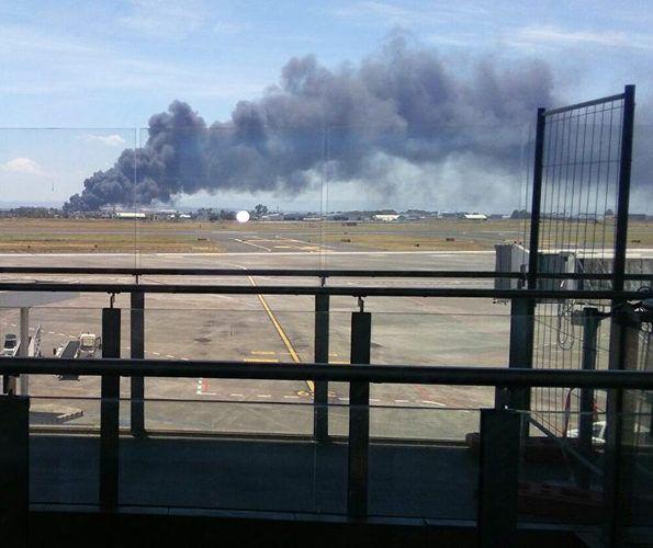 Allarme incendio a porto di Catania...  http://www.notiziecatania.it/notizie/catania/incendio-di-rifiuti-nella-zona-industriale/