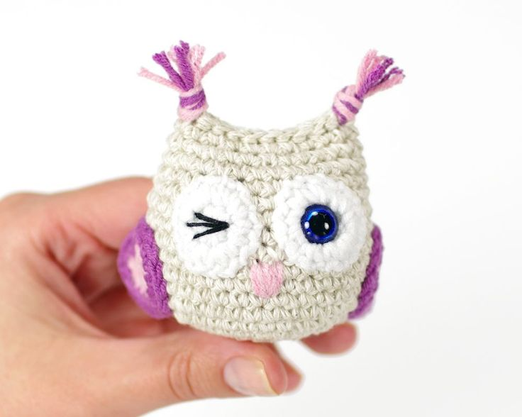free toy owl pattern
