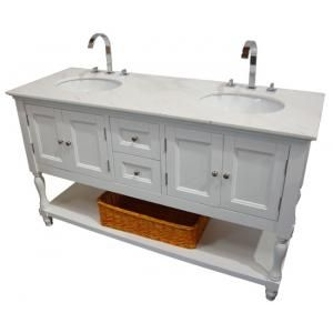 Best White Gray Guest Bath Images On Pinterest Master - Bathroom vanities made in usa for bathroom decor ideas