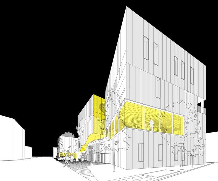 Best 25 cultural center ideas on pinterest public for Architectural design problems