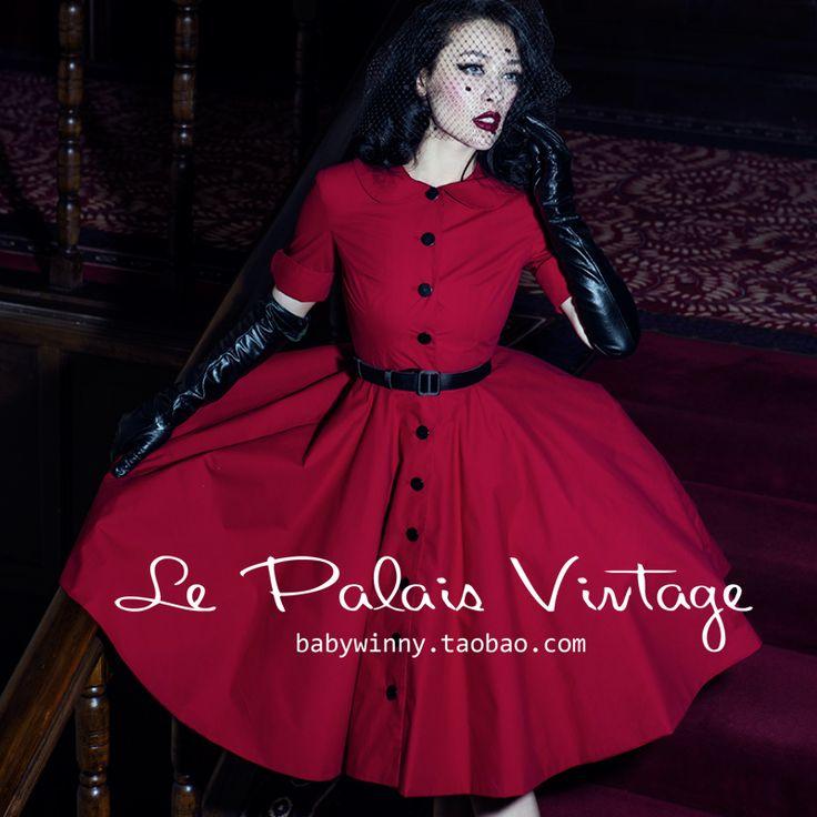 Red dress elegant 49