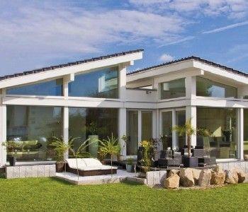 Bungalow-Glano_Kampa-Haus_Gartenansicht