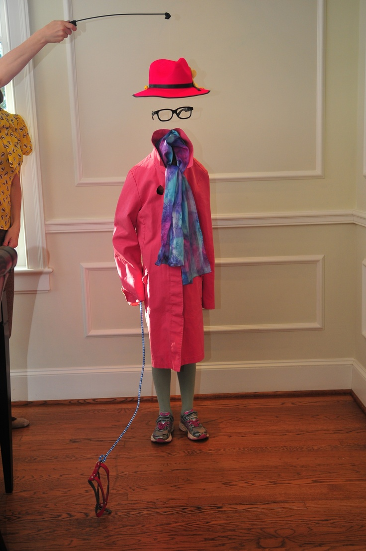 Amazing halloween costume of the invisible girl and dog halloween invisible fancy dress - Costume halloween fille ...