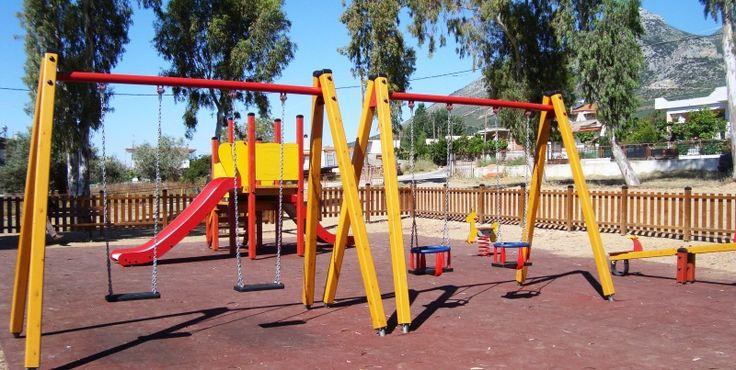 Νέες παιδικές χαρές στη Ναύπακτο μέχρι το καλοκαίρι