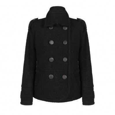 Това елегантно дамско палто е стилно предложение от Junona Fashion House. Бъдете актуални през студените и хладни дни. Комбинирайте с дънки и обувки на висок ток.