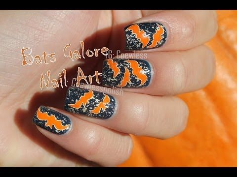 Hallo'w Halloween # 3 - Bats Galore + Tutorial