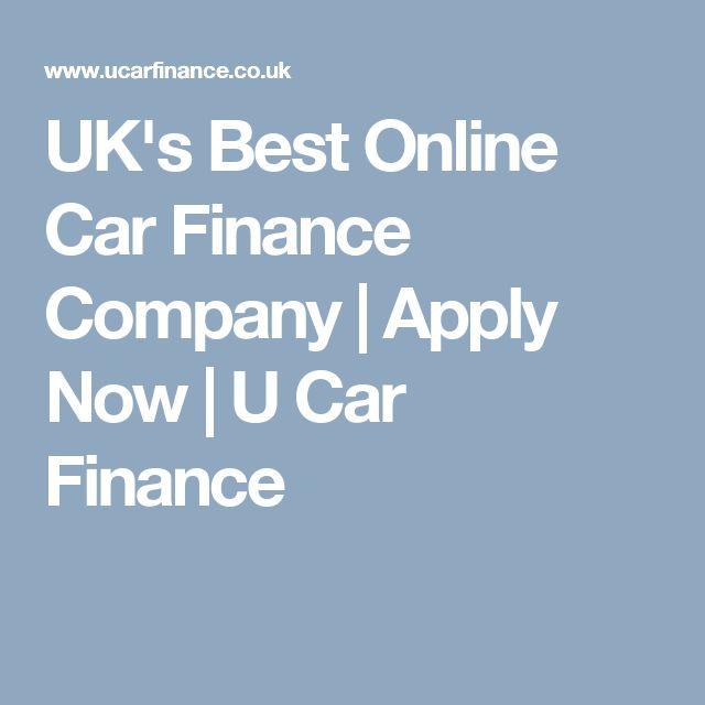 UK's Best Online Car Finance Company | Apply Now | U Car Finance