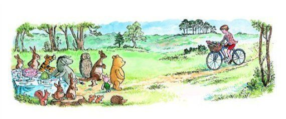 A.A. Milne was born this week in 1882. In honor of the Winnie-the-Pooh creator's birthday, here are 14 adorable quotes from his books: