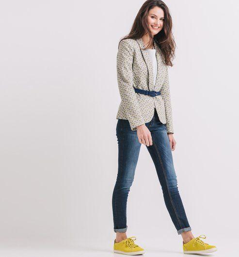 Jean slim Femme jean brut - Promod