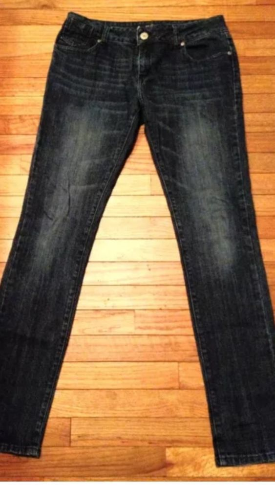 a8c9155ae65f Les Halles Women's Jeans The Harley Skinny Dark Wash #Jeans Size 29 X 32  #LESHALLES #SlimSkinny