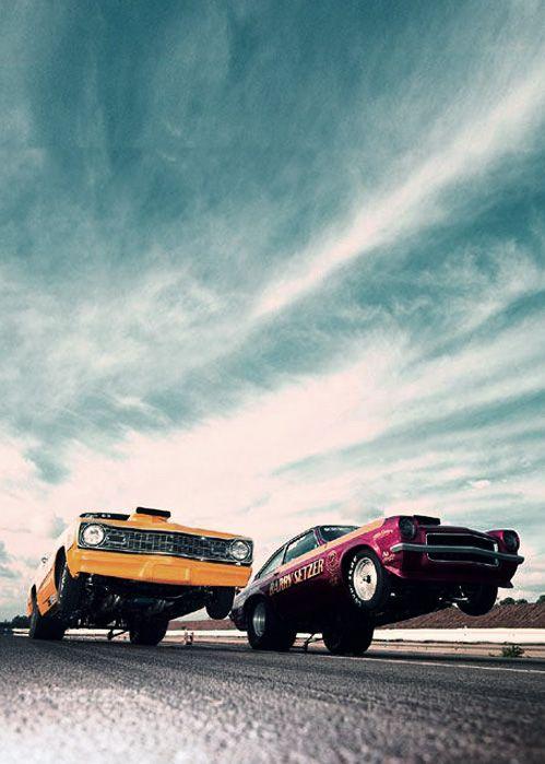 Dart Sport Chevy Vega 1973 Winternationals - So retro cool it makes me drool