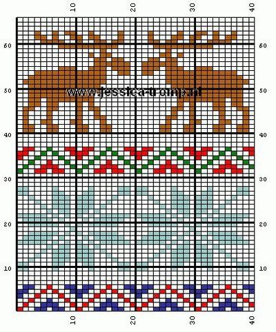 16 best Knitting Charts: Stocking Motifs images on Pinterest ...