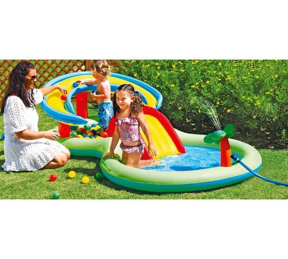 Buy chad valley activity pool play centre at for Garden pool argos