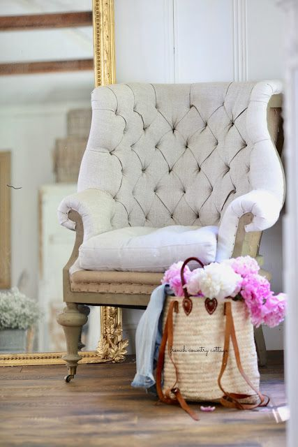 Love Style But Still Looking For Comfort In Your Furniture Get The Look Less Of This Deconstructed French Chair From Soft Surroundings