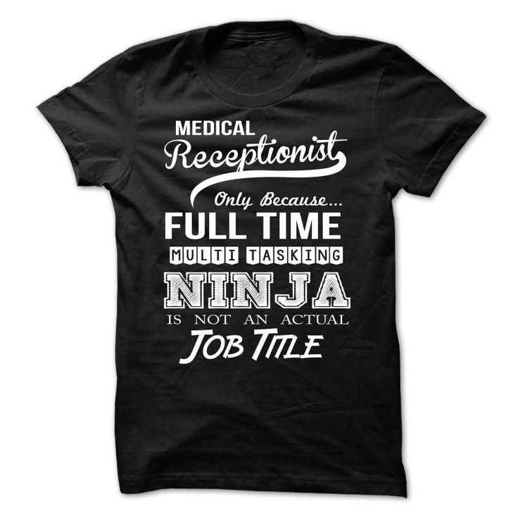 Medical Receptionist  T Shirt, Hoodie, Sweatshirt