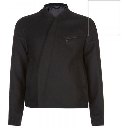Kenzo black wool blend bomber jacket Three front pockets, banded trims, internal pocket, fully lined Curved zip fastening at front 70% wool, 20% polyamide, 10% cashmere; lining: 50% acetate, 50% viscose - See more at: http://www.harveynichols.com/mens/categories/designer-jackets-coats/jackets/s461715-wool-blend-bomber-jacket.html?colour=BLACK#sthash.cquuqhLV.dpuf