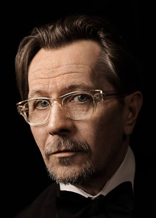 Old Man Glasses Frame : Gary Oldman wears Albert J { Famous Eyeglasses & People ...
