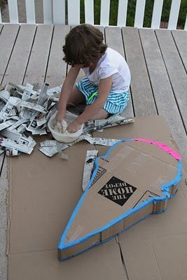 diy pinata instructions...@Amy Fandrei maybe this would work for Evan's party?