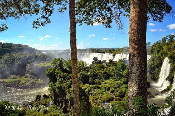 Malkior Riles Photographs: Cataratas de Iguazú. Lado Argentino. Paseo Superio...