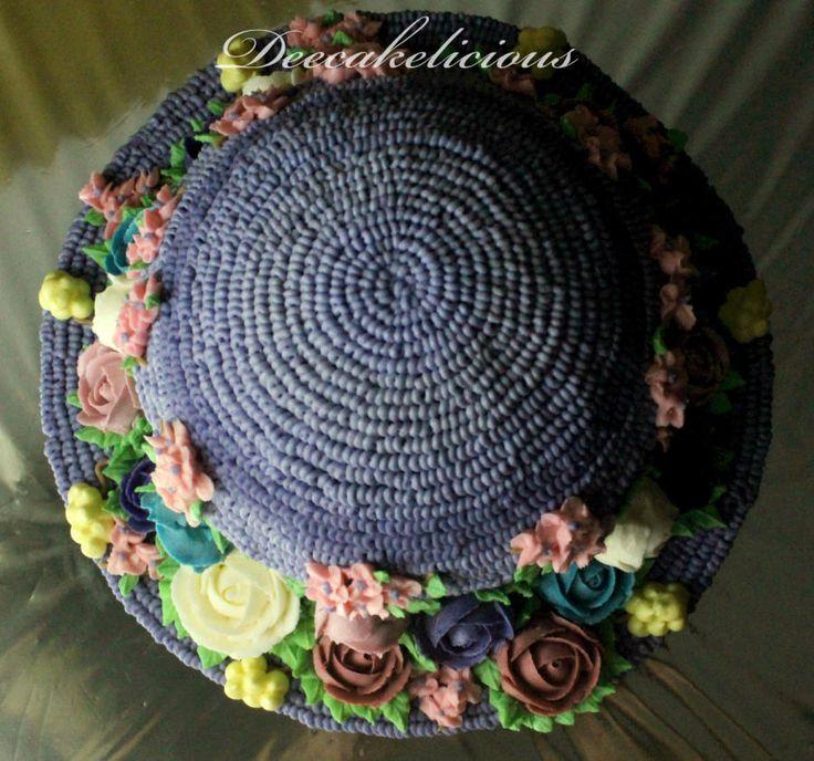 Buttercream girly hat!