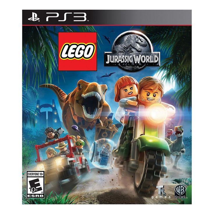 LEGO Jurassic World for Playstation 3, Multicolor