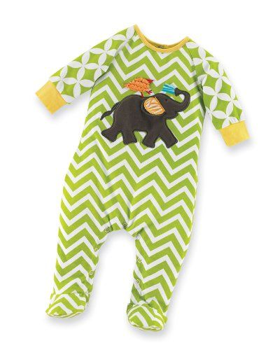 Mud Pie Unisex-Baby Newborn Safari Elephant Sleeper Footie, Multi, 0-6 Months Mud Pie,http://www.amazon.com/dp/B006VCVAZU/ref=cm_sw_r_pi_dp_WiJesb08KTXHJKTS