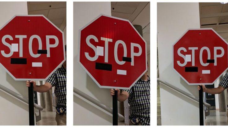 http://www.msn.com/en-za/cars/news/researchers-hack-a-self-driving-car-by-putting-stickers-on-street-signs/ar-AApseIG?li=AA8sb9&ocid=spartandhp&utm_content=bufferc8f0f&utm_medium=social&utm_source=pinterest.com&utm_campaign=buffer