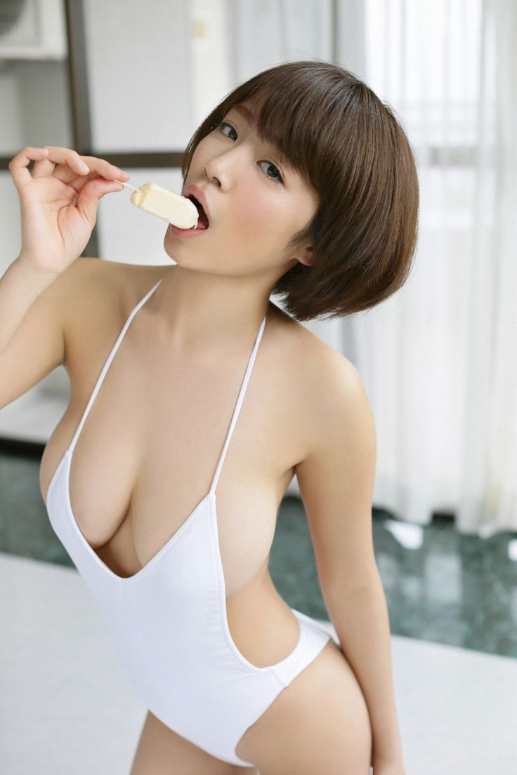 Busty asian av model hana haruna in lingerie 8