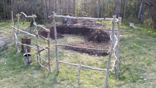Skydd för trädgrådslandet av asp!