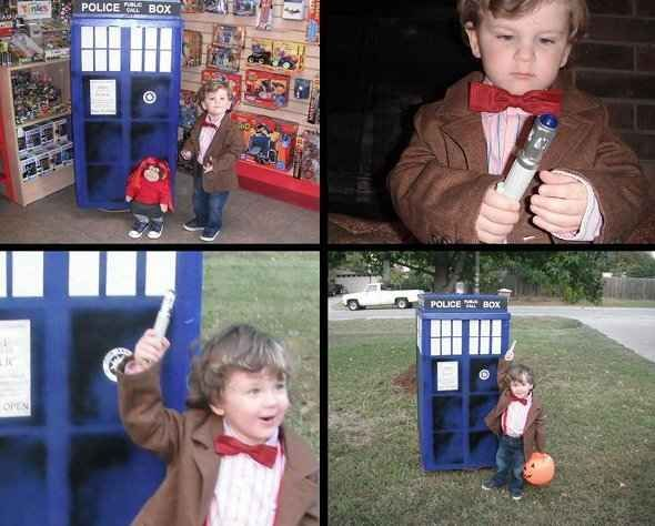 Matt Smith will have nothing on your Dr. Who.