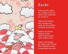Kindergedichtenapp Zacht zijn de wolken.