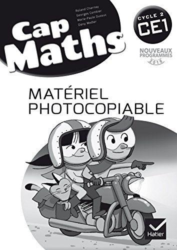 Cap Maths CE1 éd. 2016 - Matériel photocopiable #Maths #éd. #Matériel #photocopiable