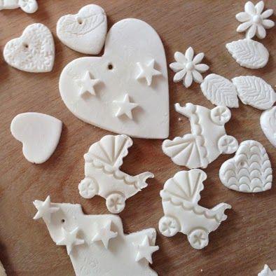 Tutorial: home made clay - pasta di mais